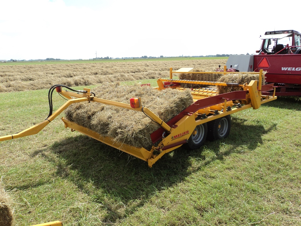Our further development of bale collector Limo Hydra